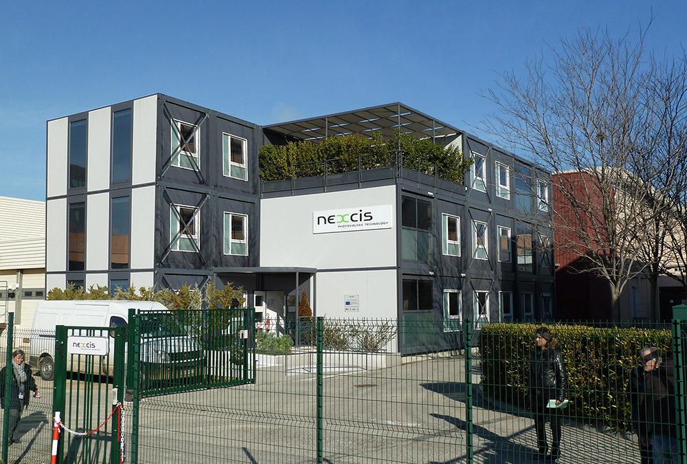 NEXCIS / bureaux modulaires & démonstrateur solaire